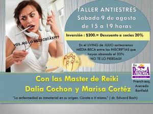 Invitacion TALLER ANTIESTRÉS