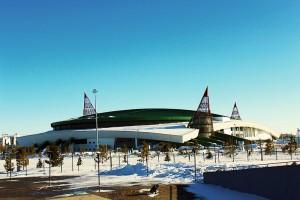 Palacio de Hielo Alau de la capital kazaja
