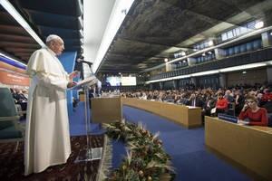 el Papa ante la FAO