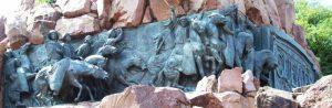gaucho de guemes en el monumento PT 06