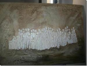 """""""Comunidades"""", la obra de la artista plástica Liliana Ginocchio, es la inspiración para el nuevo logo de la asociación """"Mujeres de Negocios y Profesionales del Sur"""""""