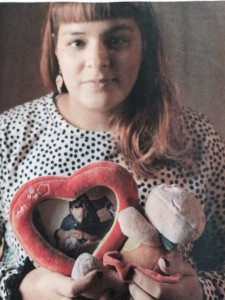 Yamila Rubio, tenía 2 años cuando su padre mató a su madre.