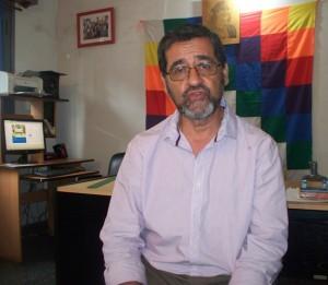 Arnunfo Verón, director de Asuntos Guaraníes