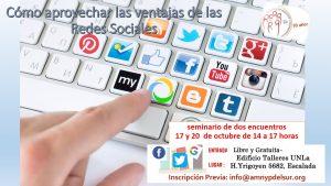 Cómo aprovechar las ventajas de las Redes Sociales